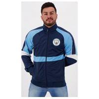 Jaqueta Manchester City Trilobal Azul Marinho