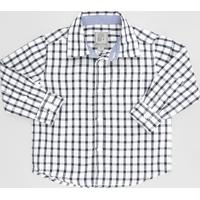 Camisa Xadrez Preta