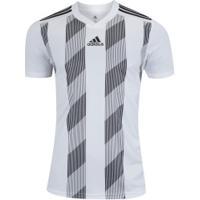 Camisa Adidas Striped 19 - Masculina - Branco/Preto