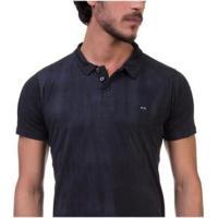 Camisa Polo Oakley Heritage Masculino - Masculino-Preto