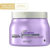 Máscara L'Oréal Professionnel Liss Unlimited 500Ml - Unissex-Incolor