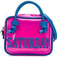 Alberta Ferretti Kids Bolsa 'Saturday' - Rosa