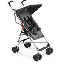 Carrinho De Bebê Multilaser - Até 15 Kg Guarda-Chuva Pocket Cinza - Bb502 - Preto - Kanui