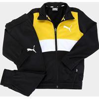 Conjunto Agasalho Infantil Puma Poly Suit Masculino - Masculino