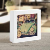 Moldura Art Box - Vintage Fusca