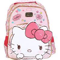 Mochila Infantil Escolar Xeryus Hello Kitty Top Lovely - Feminino-Rosa Claro+Pink