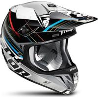 Capacete Para Motocross Thor Verge Stack - Unissex