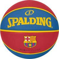 Bola Spalding Basquete Euro League Barcelona - Unissex