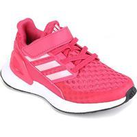 Tênis Infantil Adidas Rapidarun Velcro El - Unissex-Rosa+Pink