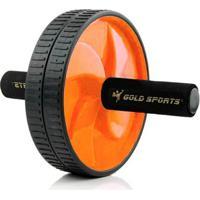 Roda De Exercícios Dupla Gold Sports - Unissex