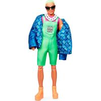 Barbie Bmr1959 Ken Com Cabelo Verde - Mattel - Tricae
