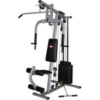 Estação De Musculação Compacta Kenkorp Emk 2810 Com 23 Opções De Exercícios - Prata/ Preto