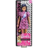 Boneca Barbie Fashionista Vestido Rosa N143 Ghw57 - Mattel