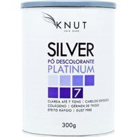 Pó Descolorante Colágeno Knut Silver Platinum 300G - Unissex