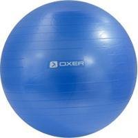 Bola De Pilates Suiça Oxer Gym Ball Com Bomba De Ar - 75Cm - Azul Claro