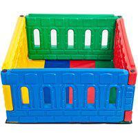 Cercadinho Quadrado Colorido - Jundplay