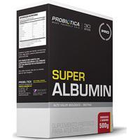 Super Albumina 500G – Probiótica - Unissex-Morango+Banana