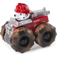 Carrinho Patrulha Canina Marshall Monster Truck Sunny - Unissex-Vermelho
