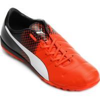 686330514638f Netshoes  Chuteira Society Puma Evopower 3.3 Tt Masculina - Masculino