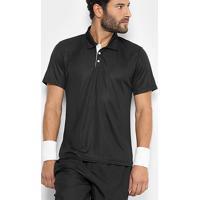Camisa Polo Fila Poli Air Masculina - Masculino-Preto
