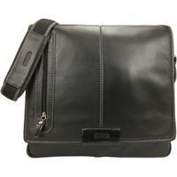 Bolsa Carteiro Masculina Para Notebook Em Couro 1108Sf