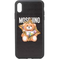 Moschino Capa Teddy Bear Para Iphone Xs Max - Preto