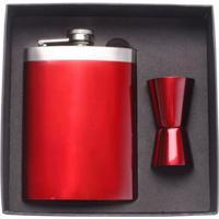 Cantil Em Aço Inox Com Copo De Medida 230 Ml