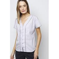 Camisa Lisa Com Passamanaria - Lilã¡Svip Reserva