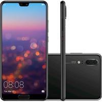 Smartphone Huawei P20 128Gb Versão Global Desbloqueado Preto
