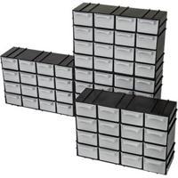 Caixa Organizadora Modular 16 Divisórias 1 Unidade Arqplast