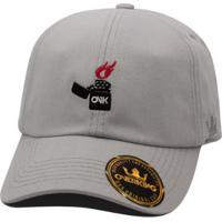 Boné Overking Aba Curva Dad Hat Strapback Lighter - Masculino