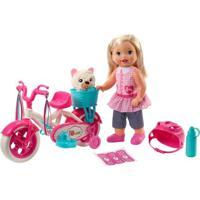 Boneca E Acessórios - Little Mommy - Meu Primeiro Passeio - Mattel - Feminino-Incolor