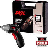 Parafusadeira A Bateria 3,6V C/ Kit E Maleta 220V - Skil
