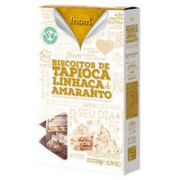 Biscoito De Tapioca Com Linhaça Dourada E Amaranto 50G - Fhom