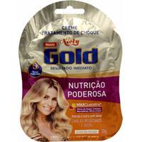 Creme Tratamento De Choque Nutrição Poderosa Niely Gold 30G