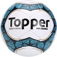 45283d7c8fb21 Netshoes  Bola Futebol Society Topper Asa Branca Ii - Unissex