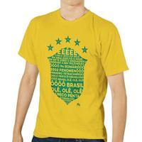 Camiseta - Brasil: Único Penta. Masculina - Masculino
