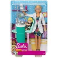 Boneca Barbie Quero Ser Dentista De Criança Mattel Dhb63