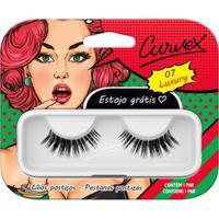 Cílios Postiços Merheje - Curvex Luxury 07 Pack Unitário - Unissex-Incolor