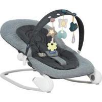 Espreguiçadeira Bebê Retrátil Reclinável - Unissex-Cinza