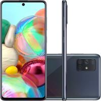 Smartphone Samsung Galaxy A71 128Gb 6Gb Ram Nacional Preto