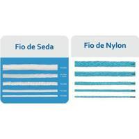 Rede Oficial Para Handebol (Nylon) Fio 4 - Par - Unissex-Branco