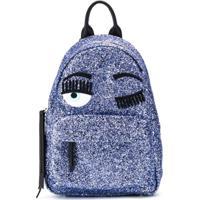 Chiara Ferragni Kids Flirting Backpack - Roxo