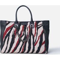 Shopping Bag Tricot Zeb Vinho Vinho - U
