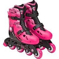 Barbie Patins Ajustã¡Vel 33 A 36 Com Acessã³Rios - Intek - Multicolorido - Menina - Dafiti