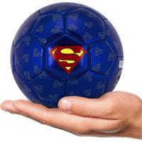 Minibola De Futebol De Campo Liga Da Justiça Super-Homem - Infantil - Azul