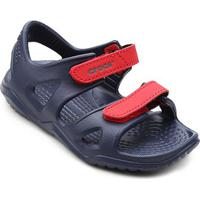 Papete Infantil Crocs Velcro Swiftwater River - Masculino