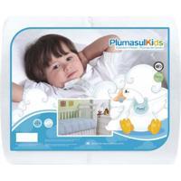 Edredom 85% Pena 15% Pluma-Baby-120X140-Branco