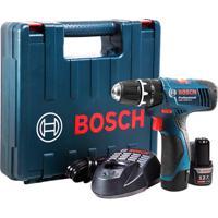 Parafusadeira E Furadeira De Impacto 110V Gsb 1200-2-Li Professional Sem Fio Azul E Preta