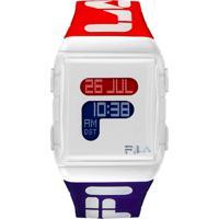 Relógio Fila Digital Esportivo - Vermelho/Azul